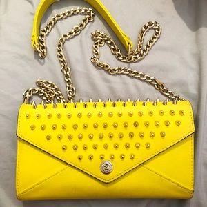 Yellow Rebecca Minkoff clutch/wallet